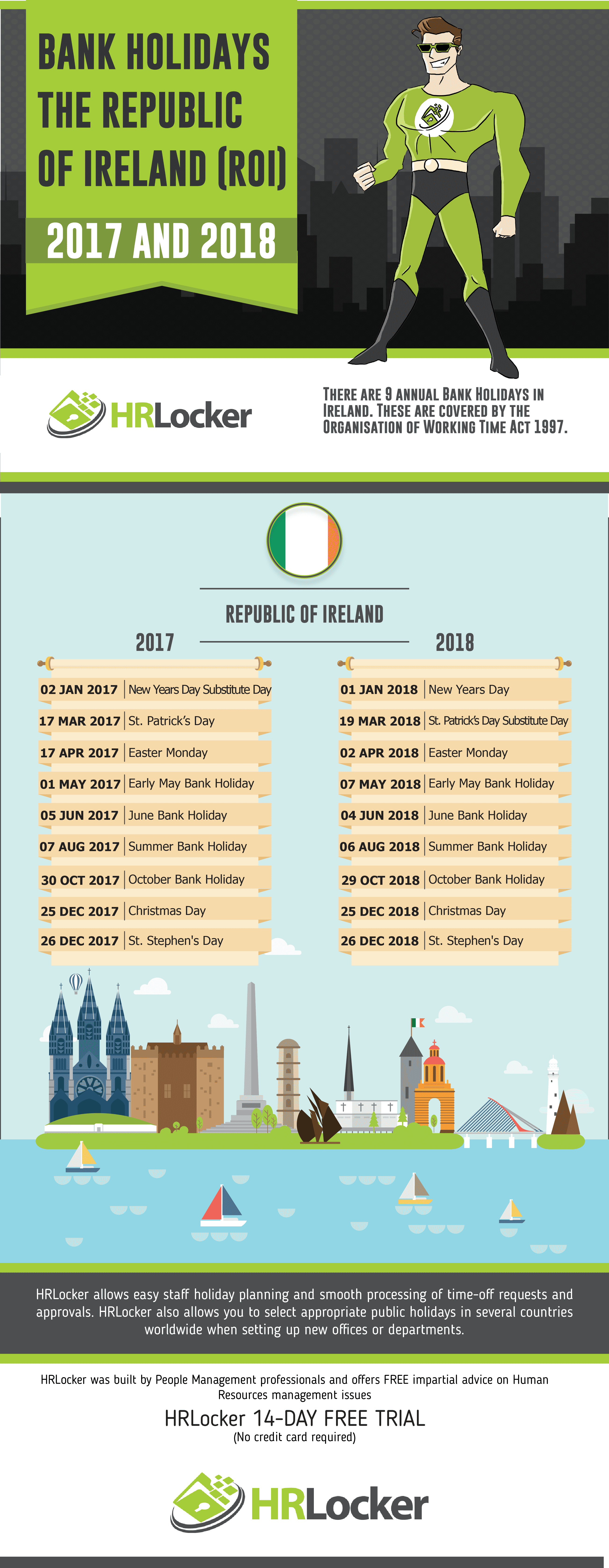 Uk Republic Of Ireland Scotland And Northern Ireland Bank Holidays 2017 And 2018